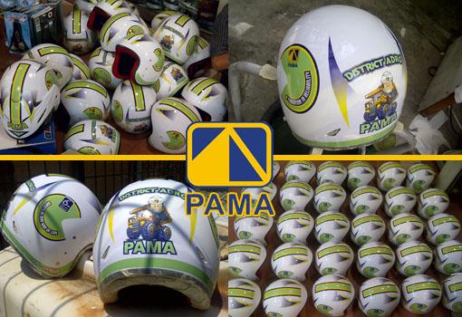 Helm Custom Pama Persada