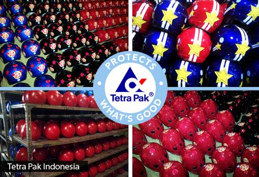 Helm Promosi Tetra Pak Indonesia
