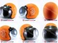 Helm Custom 3 Selular