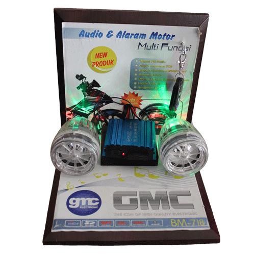 Audio Amp Alarm Motor