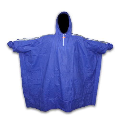Jas Hujan Elmondo Biru Depan