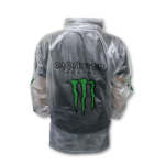 Jas Hujan Transparan Monster Energy