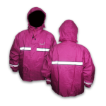 Jas Hujan Rosida Pink