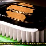 Open Filter Udara Ferrox Ninja 250