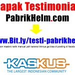 Testimonial pabrikhelm.com