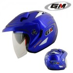 Helm GM Lexxus 2 Visor Solid Blue