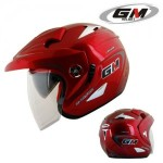 Helm GM Lexxus 2 Visor Solid Red
