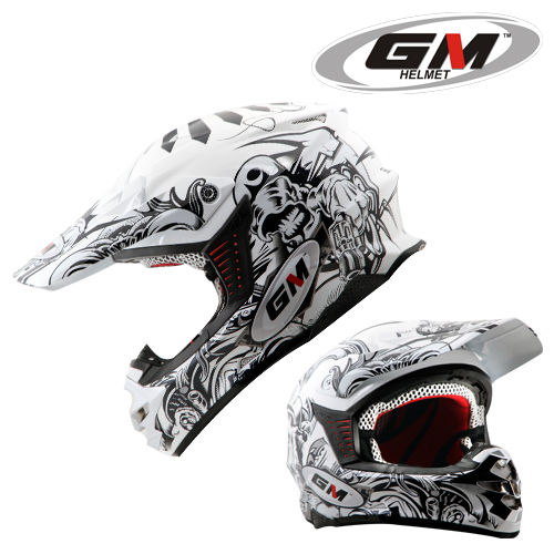 GM Motocross Generation White