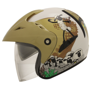 Helm BMC fuji Shaun The Sheep 01