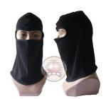 Masker Full Face Black Polos