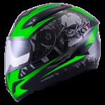 Veron #1 - Black Green Fluo