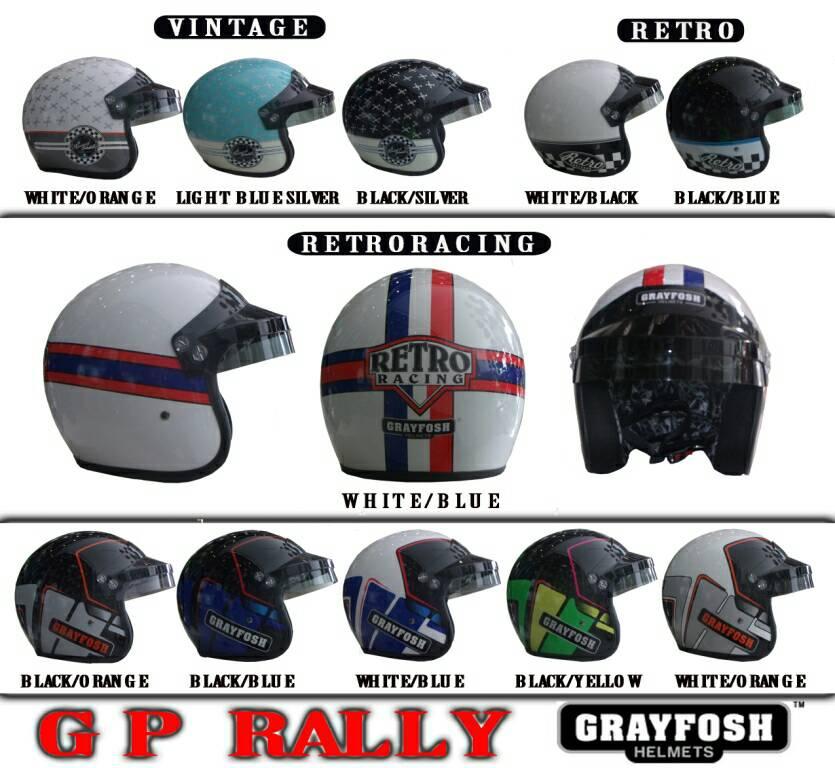 Helm Grayfosh GP Rally