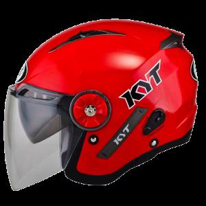 Promo Helm KYT Mine Solid Merah Size L