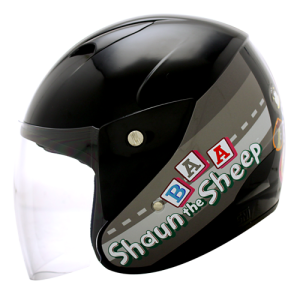 Helm MDS Sport R3 Shaun The Sheep