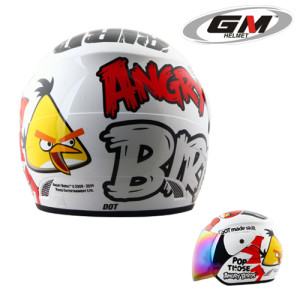 Helm GM Evolution Angry bird Seri 6