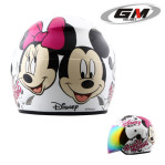 Helm GM Evolution Mickey minnie Seri 5