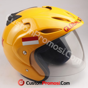 Helm Custom Promosi Nomor 18