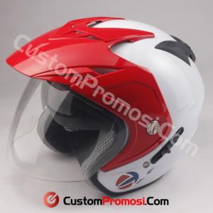 Helm Custom Promosi Nomor 15