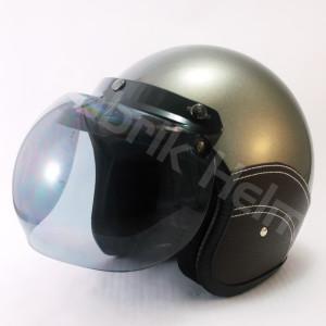 Helm JPN Retro Kulit Kaca Bogo