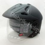 Helm Zeus ZS-612C Hitam Doff