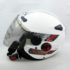 Helm Zeus ZS-210B Putih/Silver