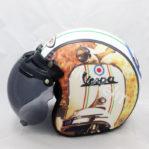Helm Retro Gogo Vespa Italy