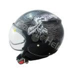 Helm Zeus ZS-210K Hitam/Silver