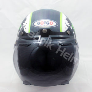 Helm Retro Gogo Monster