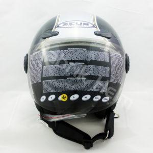 Helm Zeus ZS-210B Hitam/Silver