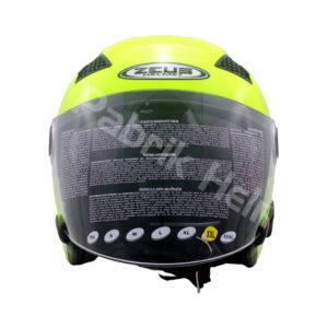 Helm Zeus ZS-610 Hijau Stabilo Glossy