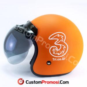 Helm Retro Custom Promosi Nomor 106