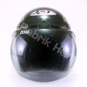 Helm JPN Retro Steadeast Kaca Bogo