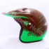 Helm JPN Cross PC18 Motif Z18 Coklat