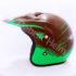 Helm JPN Cross PC18 Motif Z18 Coklat
