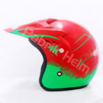 Helm JPN Cross PC18 Motif Z18 Merah