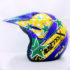 Helm JPN Cross PC18 Motif Star Biru
