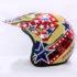 Helm JPN Cross PC18 Motif Star Cappucino