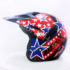 Helm JPN Cross PC18 Motif Star Hitam