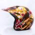 Helm JPN Cross PC18 Motif Star Coklat