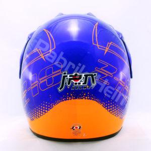Helm JPN Cross PC18 Motif Z18 Biru