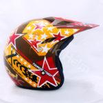 PC18 Motif Star Coklat