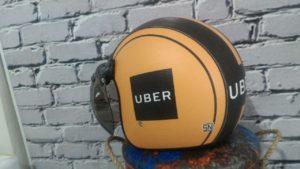 Jual Helm Uber Ojek Retro – klasik-bogo Kulit halfface SNI